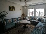 Apartment for sale in Bel Air - Val fleuri. Dimension 93 m². Traditional Moroccan living room, secured residence.