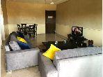 شقة رائعة للايجار بطريق الدارالبيضاء. 2 غرف رائعة. مفروشة.