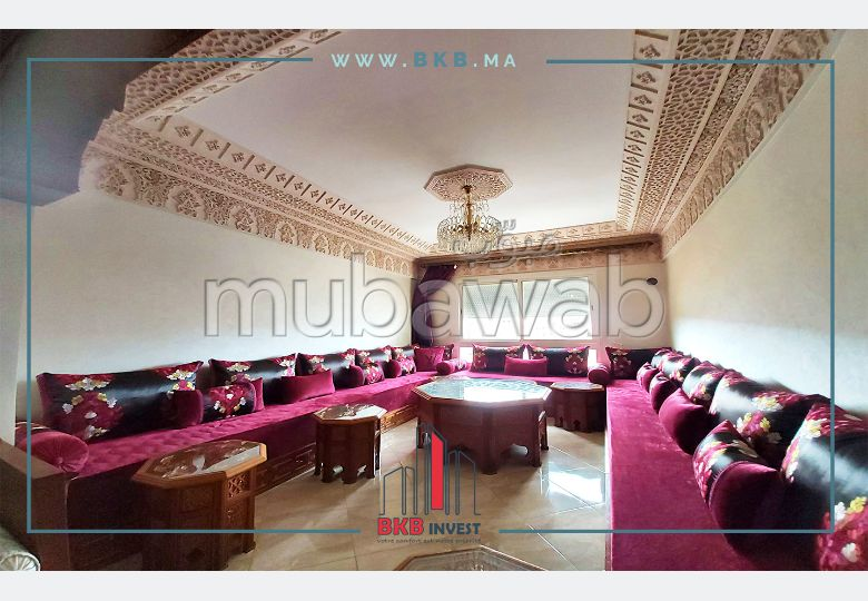 Beautiful apartment for sale in Moujahidine. 3 Halls. No Lift.