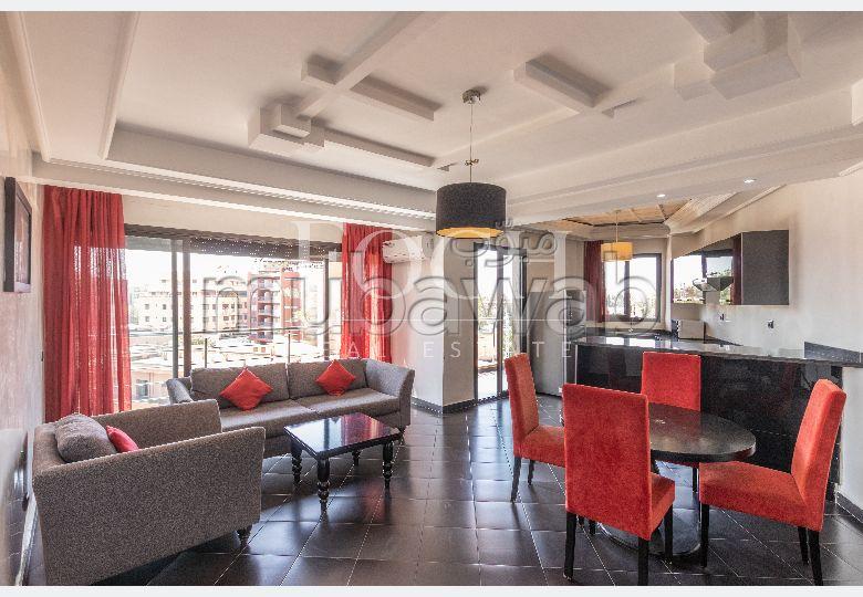 شقة رائعة للايجار بكليز. 1 غرفة. مفروشة.