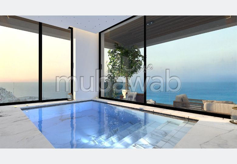 Apartment for sale in De La Plage. 4 Rooms. Double glazed windows and central heating.