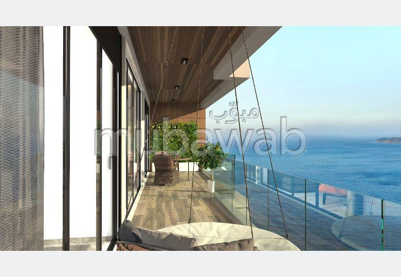 Apartment for sale in De La Plage. 2 Master bedroom. Double glazed windows and reinforced door.