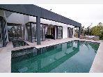 Projet neuf de villas de standing route d'Amizmiz