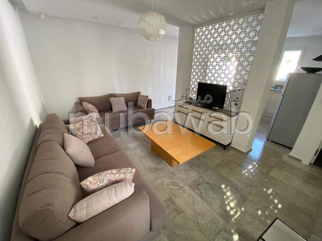A louer à la Marsa Cub un bel appartement meublé