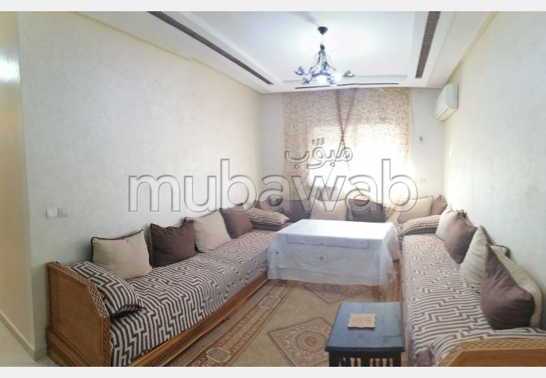 Apartment for rent in Guéliz. Area of 72 m². Furnishings.