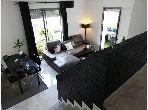 Charmant duplex meublé immeuble haut Standing