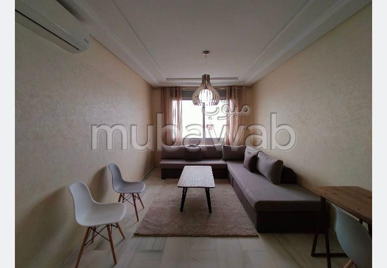 شقة جميلة للكراء ب طنجة سيتي سنتر. 1 غرفة. مفروشة.
