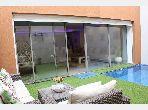 Duplex a louer avec piscine privee