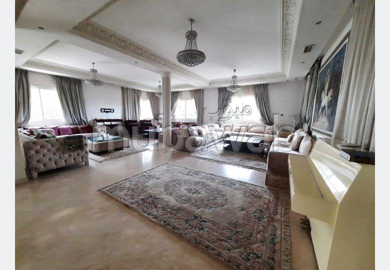Location magnifique villa avec piscine Ain Diab