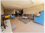 استئجار شقة بأكدال. المساحة الإجمالية 120 م².