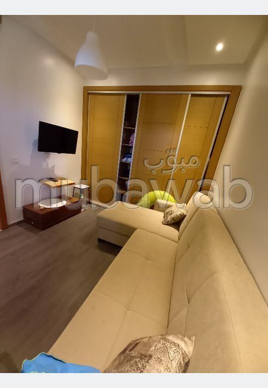 Location d'un appartement à Founti. 3 grandes pièces. Bien meublé