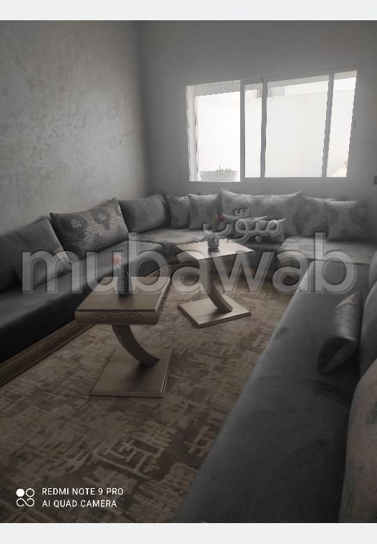 شقة رائعة للبيع ب بئر الرامي الشرقية. 2 غرف. صحن هوائي والأمن والحراسة.