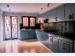 Somptueuse villa à louer à Hay Targa. 5 pièces. Tout confort avec cheminée et climatisation