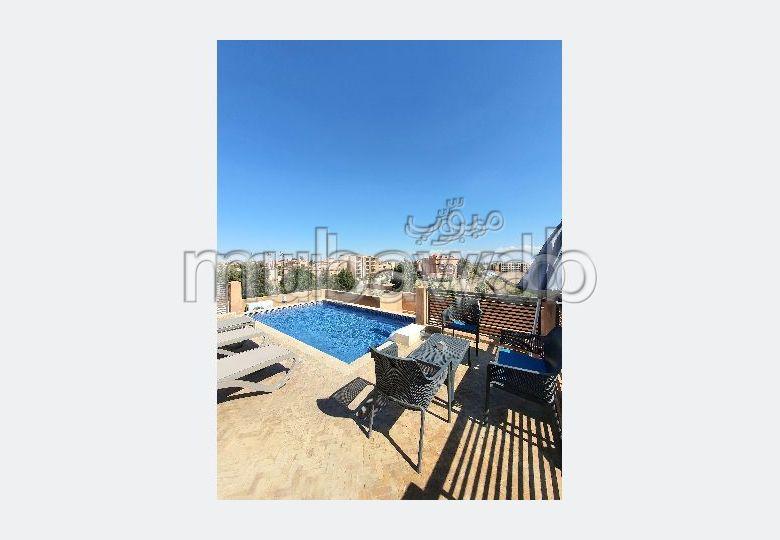 Appartement Meublé avec terrasse