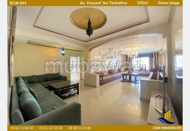 Appartement meublé en vente à marina tanger