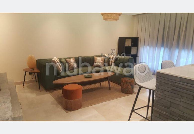 Appartement 2ch à Bouskoura Meublée FRONT GOLF