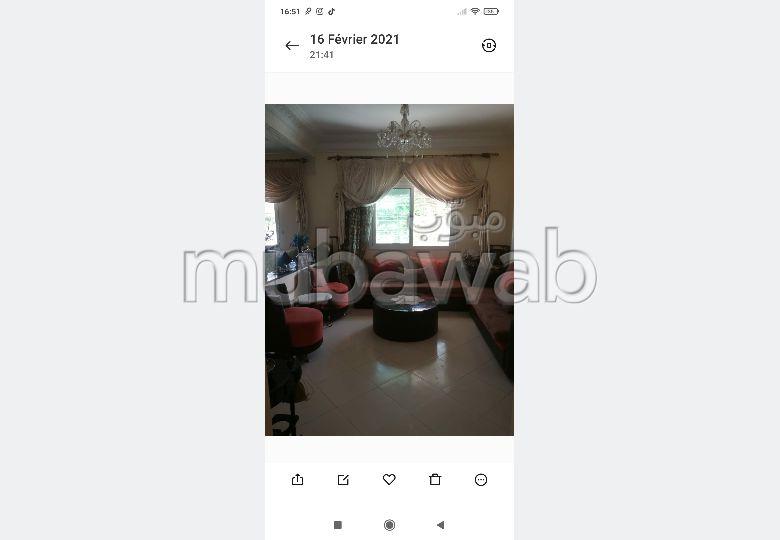Busca pisos en venta en Route ain Chkaf. 3 Hermosas habitaciones. Antena parabólica y seguridad.