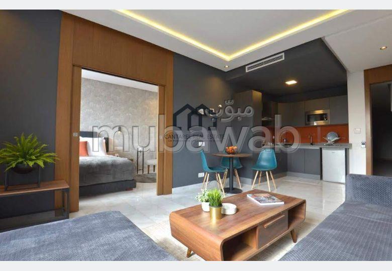 شقة للكراء بفيرم بروطون حي الراحة. المساحة 47 م². مفروشة.