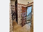Apartment for sale in El Qaria. 2 large rooms. Traditional living room.