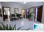 شقة للإيجار بوسط المدينة. المساحة 118 م². مفروشة.