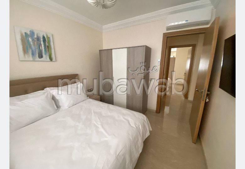 Find an apartment for rent in Founti. 4 comfortable rooms. Parking spaces and terrace.