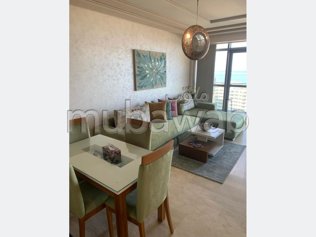 Lovely apartment for rent in De La Plage. 2 Hall. Furnishings.