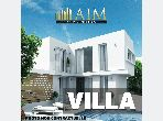 Magnificent villa for sale in Anfa. Area of 987 m². Residence with caretaker, general air conditioning.