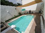 S+2 meublé de 100m² avec piscine à hammamet centre