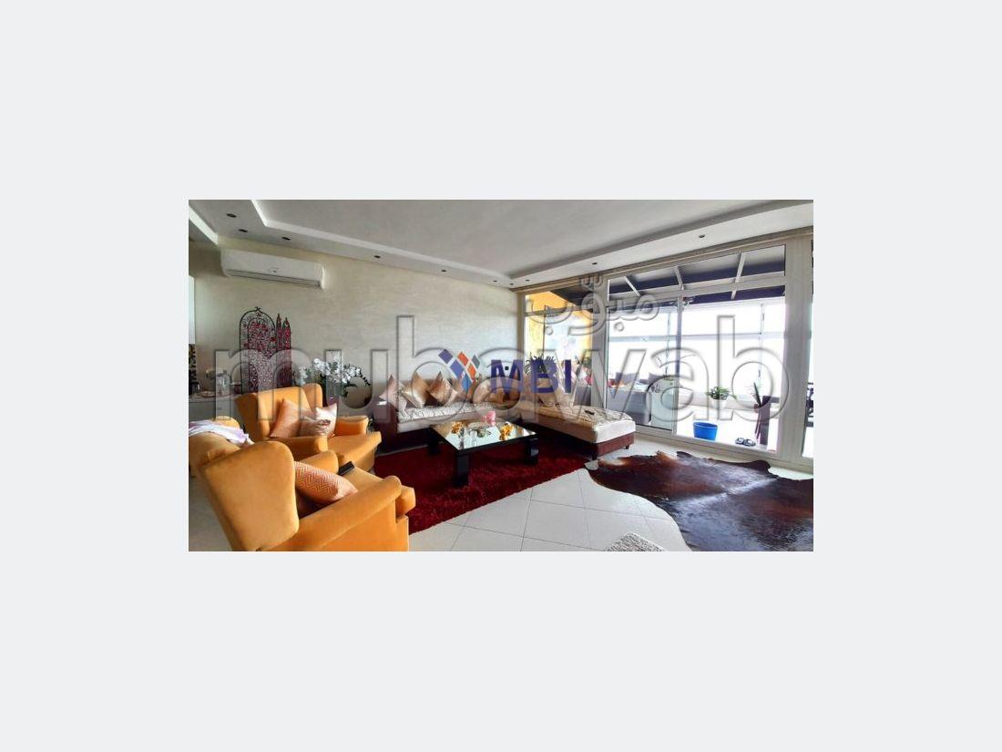 شقة رائعة للايجار بملابطا. 2 غرف. مفروشة.