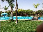 Apartment for sale in Route Casablanca. Dimension 91 m². Carpark and garden.