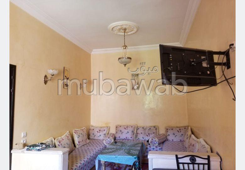 Magnífico piso en alquiler en Hay Mabrouka. 2 Suite parental. Con ascensor.