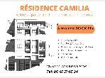 Appartement à vendre à Camp Al Ghoul. Superficie 65 m². Garage et terrasse.