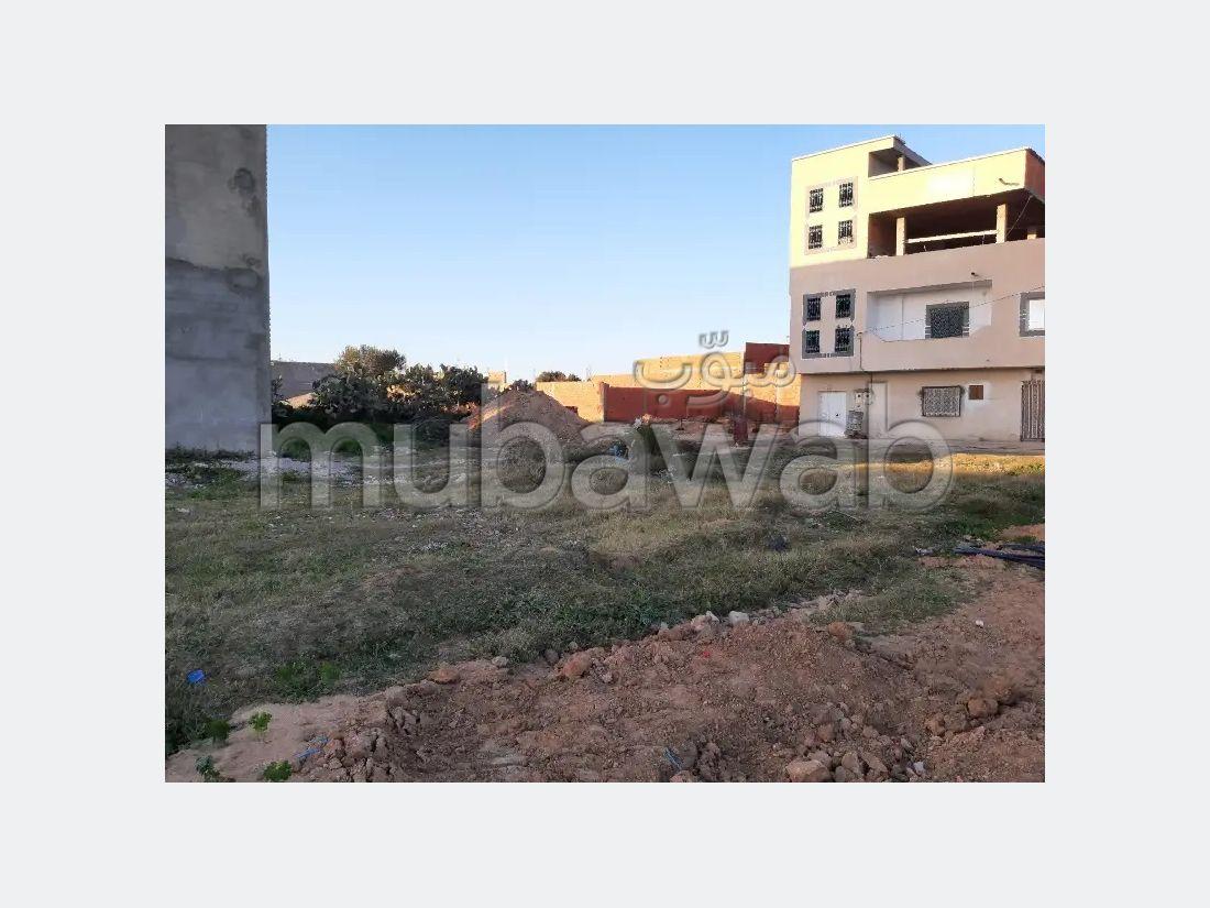 Vente terrain à Zaouiet Sousse. Superficie 400 m².