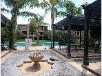 Piso en venta en Hay Targa. Área total 98 m². Jardín y terraza.