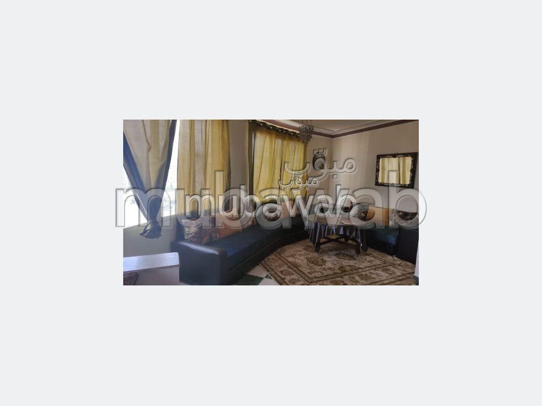 Appartement de vacances à louer à Malabata. Surface totale 60 m². Bien meublé