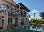 Superbe villa contemporaine à louer