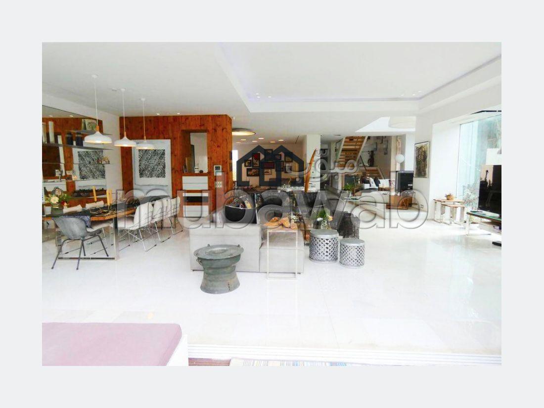 À vendre à EL MANAR Villa Atypique d'exception