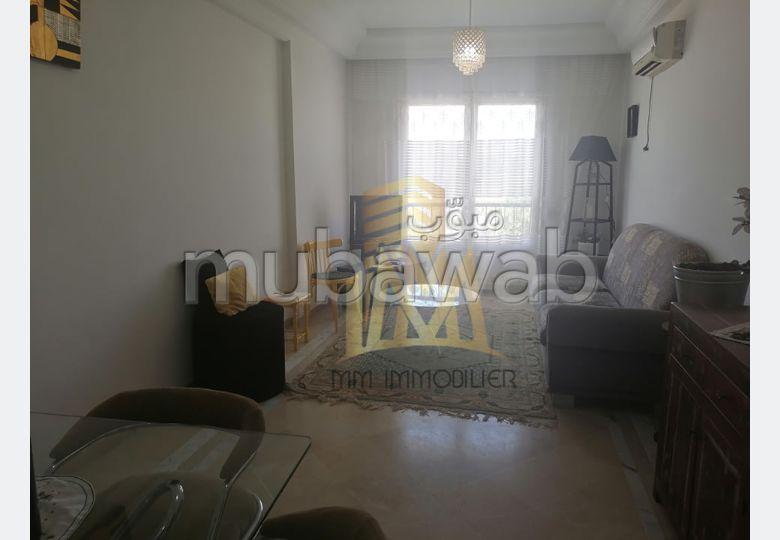 A louer un appartement s+1 meublé à Ennaser