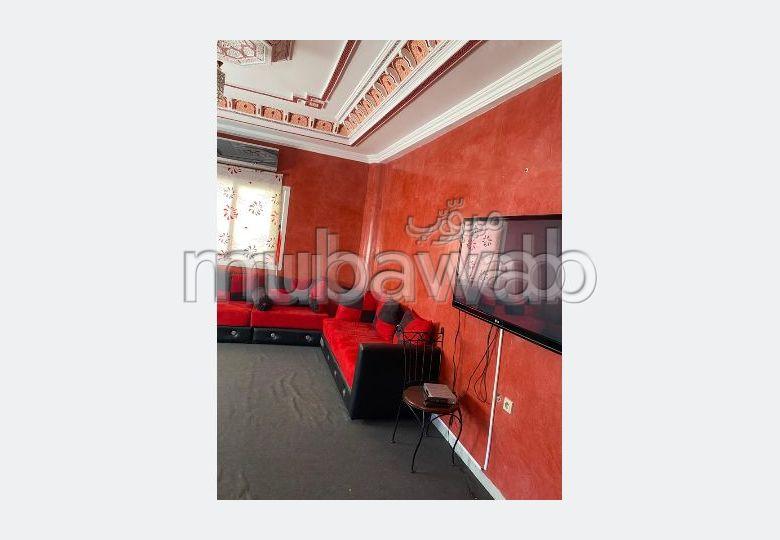 Precioso piso en alquiler en Sanaoubar. 2 habitaciones confortables. Bien amueblado.
