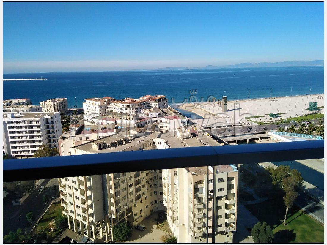 Location d'un appartement avec vue sur mer