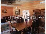 فيلا فخمة للبيع طريق فاس ب. 4 غرف ممتازة. صالة تقليدية ونظام طبق الأقمار الصناعية.