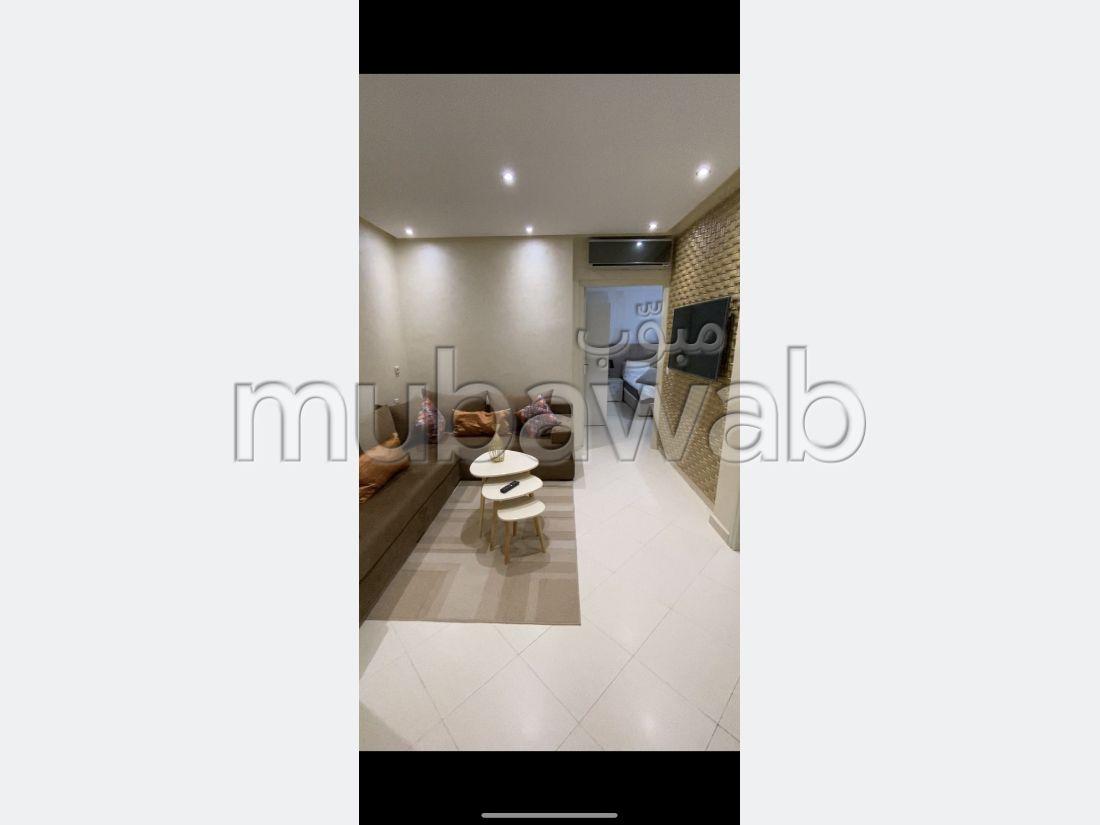 Très bel appartement en location à De La Plage. 2 belles chambres. Bien meublé