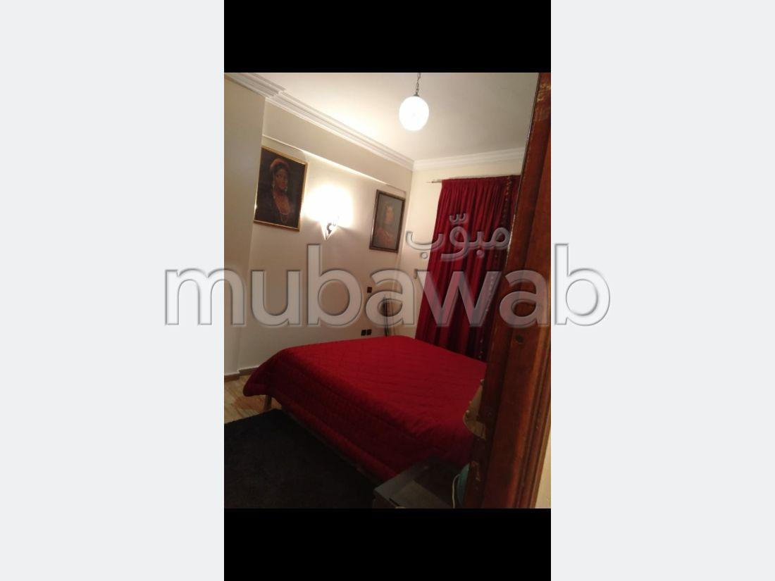Appartement à louer à Route Casablanca. 2 pièces. Meublé