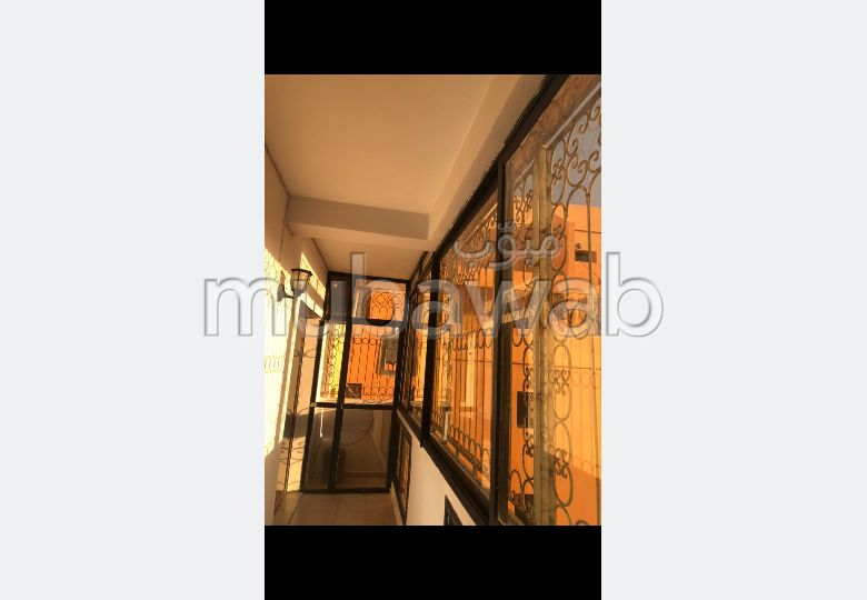 Very nice apartment for rent in Route Casablanca. 2 Hall. No Lift, Balcony.