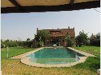 Vente 2 villas avec vna titrées sur 1 hectare à km 17 route d'ourika marrakech