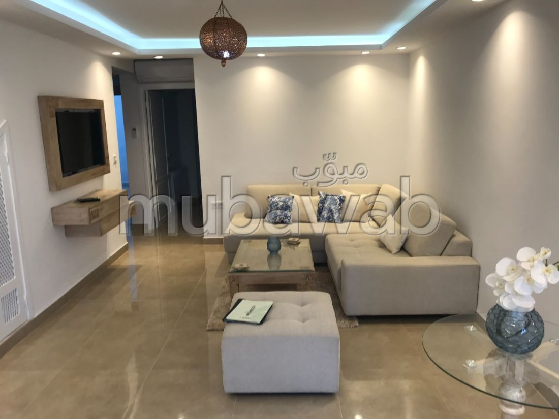 Find an apartment for rent in Sidi Bousaid. Large area 60 m². Furnished.