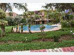Magnífico piso en alquiler en Route d'Agadir - Essaouira. 2 Suite parental. Cuenta con una piscina y una chimenea.