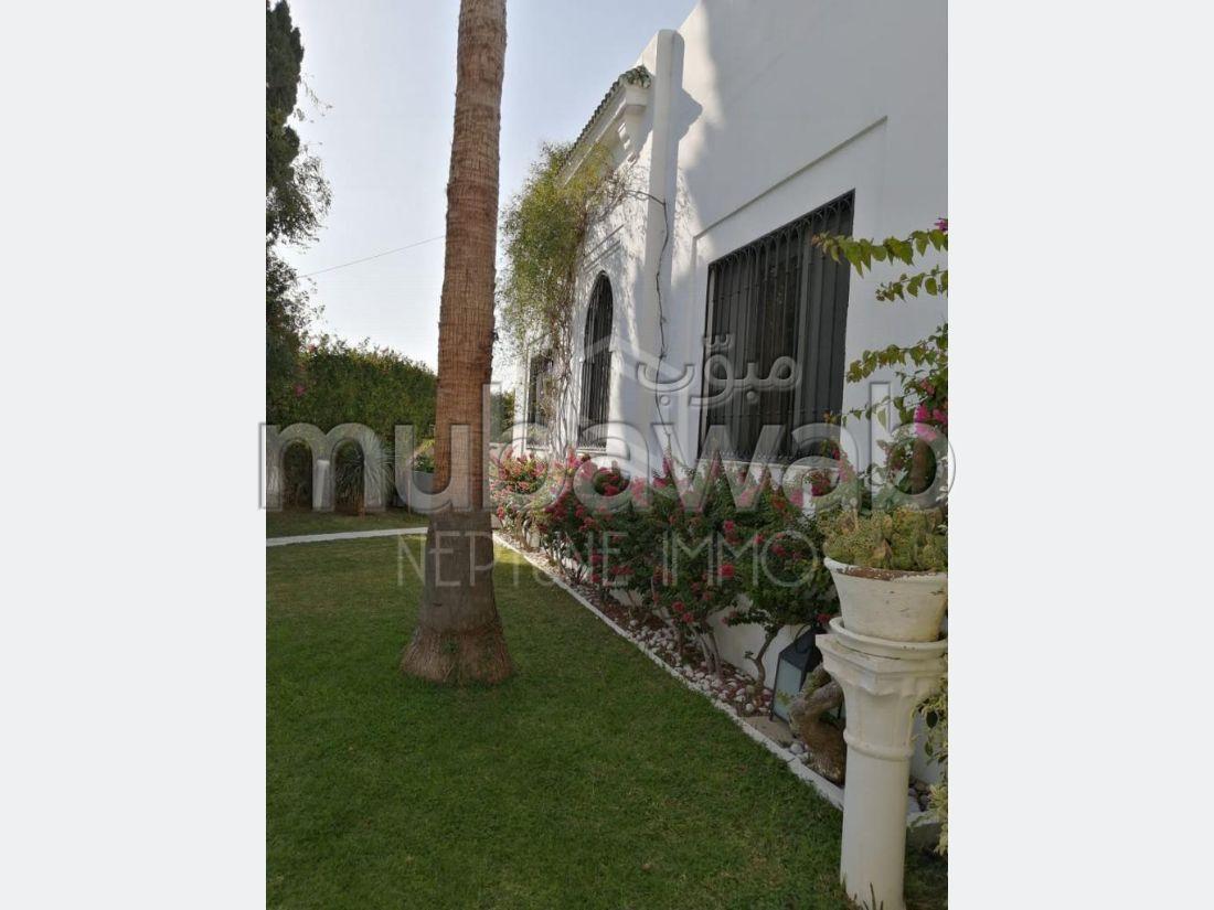 À louer superbe villa meublée à Carthage