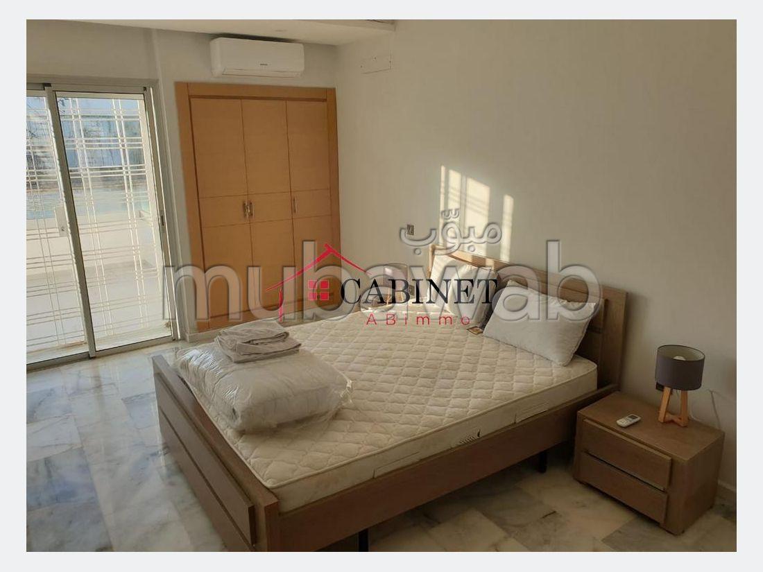 Superbe appartement en Location à Agdal