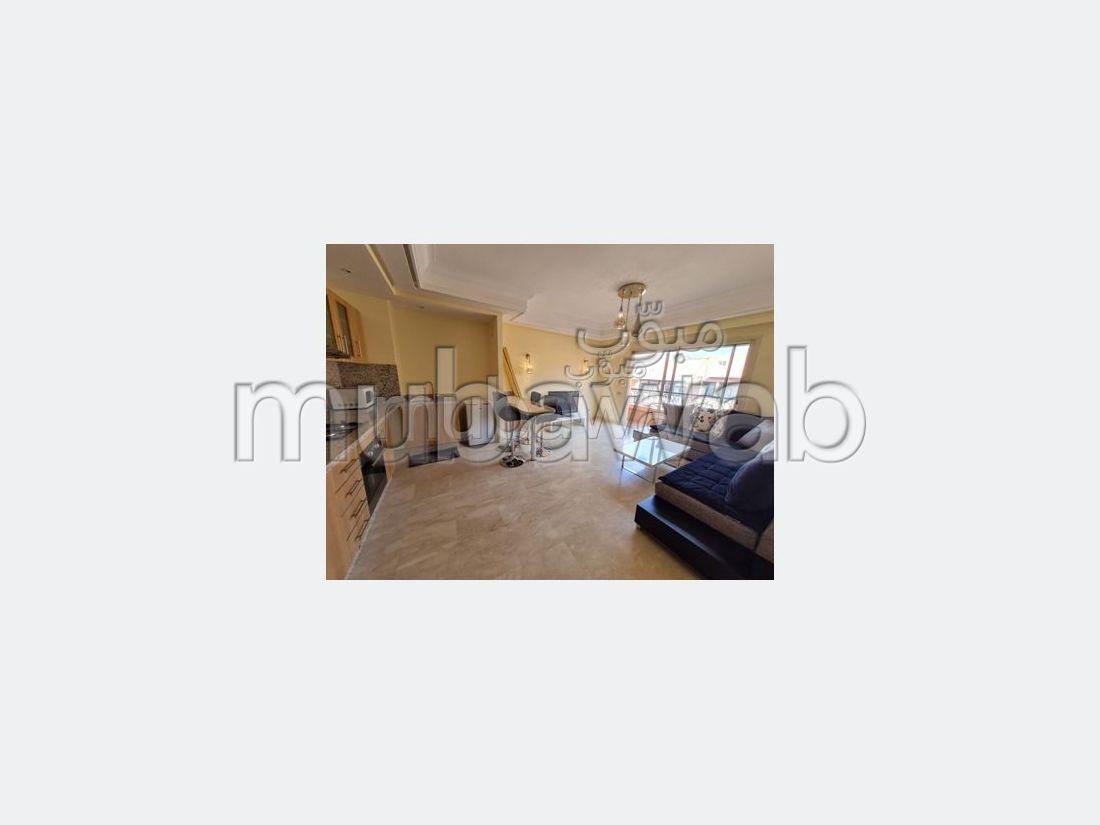 شقة جميلة للكراء بالسملالية. المساحة الكلية 55 م².
